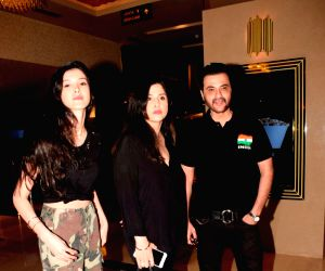"Special screening of ""Jurassic World: Fallen Kingdom"" - Sanjay Kapoor, Maheep Sandhu and Shanaya Kapoor"