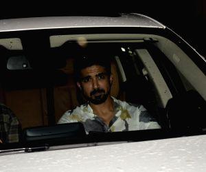 "Special screening of film ""Dhadak"" - Saqib Saleem"