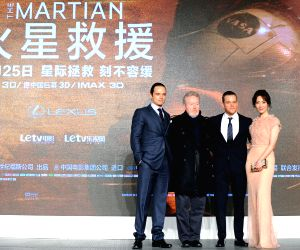 CHINA BEIJING MOVIE THE MARTIAN PREMIERE
