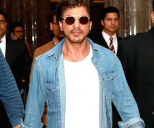 Shah Rukh Khan at a Gurgaon hotel