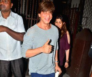 Shah Rukh Khan at Shankar Mahadevan Recording Studio