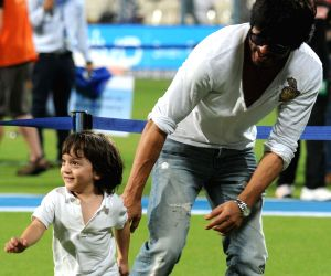 File Photo: Shah Rukh Khan with AbRam