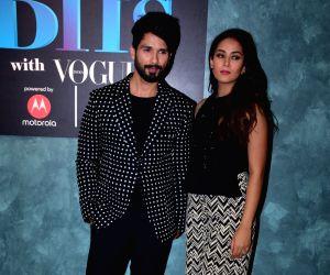 "Vogue BFFs"" - Shahid Kapoor and Mira Rajput"