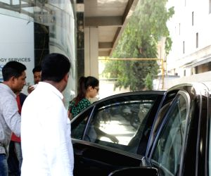 Mira Rajput seen at a clinic