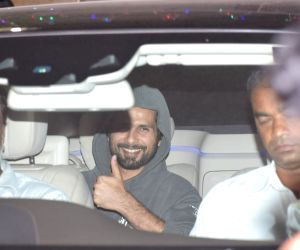 Shahid Kapoor seen at Juhu