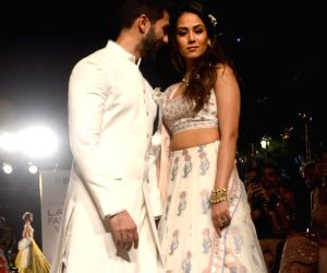 Lakme Fashion Week Summer/Resort 2018 - Shahid Kapoor and Mira Rajput