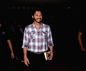 Shreyas Talpade spotted at airport