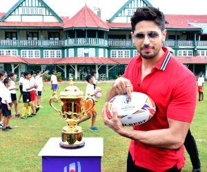 Rugby world cup tour - Sidharth Malhotra