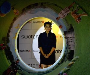 Sonakshi Sinha launches Swatch Fall Winter 2014 Collection