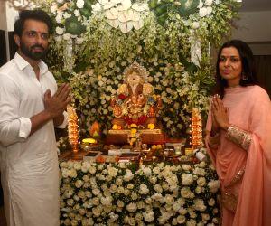 Sonu Sood celebrates Ganesh Chaturthi