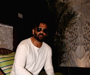 Suniel Shetty during a programme