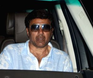 Sunny Deol at airport