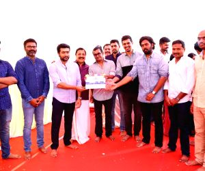 "Mahurat of film ""Suriya 36"" - Suriya and Selvaraghavan"