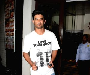 """Wrap up party of film """"Stree"""" - Sushant Singh Rajput"""