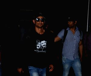 Sushant Singh Rajput seen at airport