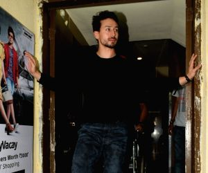 """Actor Tiger Shroff  at the screening of his upcoming film """"Student of the Year 2"""" in Mumbai, on May 7, 2019."""
