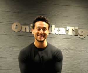 Onitsuka Tiger store launch - Tiger Shroff