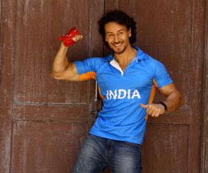 Tiger Shroff Add Photo shoot For Film Munna Michael