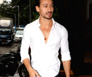 Tiger Shroff seen at Sanjay Leela Bhansali's office