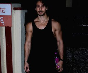 Tiger Shroff spotted at Gym