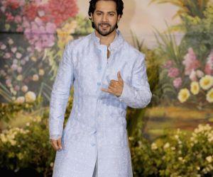 Sonam Kapoor and Anand Ahuja's wedding reception - Varun Dhawan