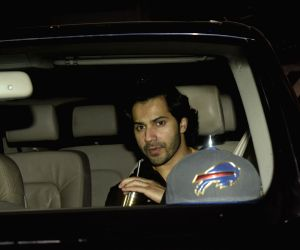 Varun Dhawan and Aayush Sharma seen outside the gym