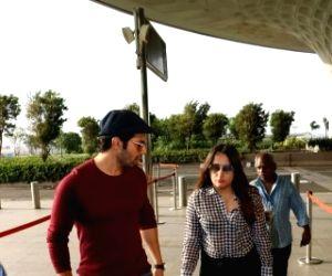 Varun Dhawan spotted at Mumbai Airport