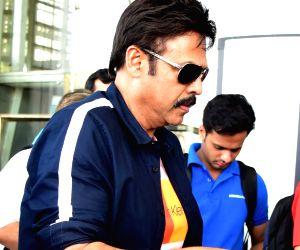 Venkatesh Daggubati at Jaipur Airport