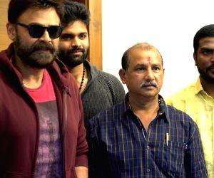 Venkatesh during the trailer Of Samudra's 'Jai Sena