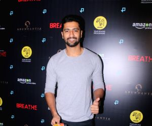 "Special screening of web series ""Breathe"" - Vicky Kaushal"