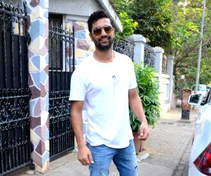 Vicky Kaushal seen at Mumbai's Bandra