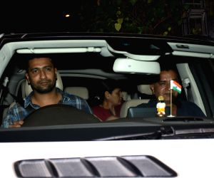 Vicky Kaushal seen at Bandra