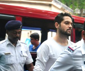 Vikram produced in court