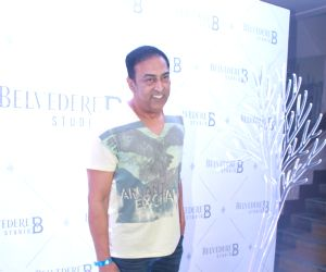 Vindu Dara Singh at the launch of a studio