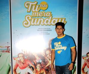 Promotions of the film 'Tu Hai Mera Sunday' - Vishal Malhotra
