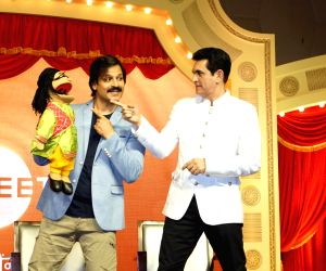 press conference of India's Best Dramebaaz Season 2 - Vivek Oberoi and Omung Kumar