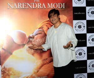 "Actor Vivek Oberoi at the success party of his recently released film ""PM Narendra Modi"", in Mumbai, on June 13, 2019."