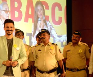 Vivek Oberoi during World No Tobacco Day programme