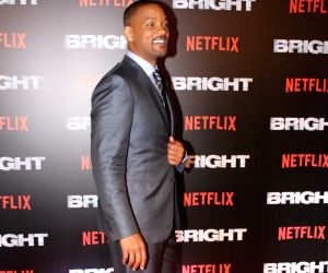 "Special screening of film ""Bright"" - Will Smith"