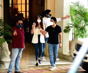Raksha Bandhan celebrations at Raj Kapoor's residence
