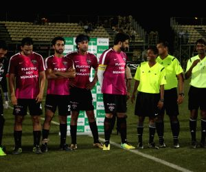 Bollywood Stars v/s CISF Football Match