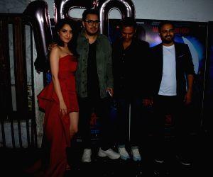 """Success party of film """"Stree"""" -  Abhishek Banerjee, Shraddha Kapoor,  Dinesh Vijan and Amar Kaushik"""