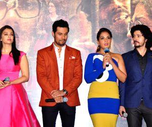Actors Aishwarya Rai Bachchan, Randeep Hooda, Richa Chadha and Darshan Kumaar