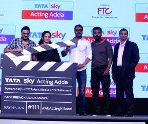 Launch of Tata Sky Acting Adda
