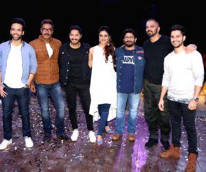 "Promotion of film ""Golmaal Again""-Ajay Devgan, Tabu, Tusshar Kapoor, Kunal Khemu, Shreyas Talpade and Rohit Shetty"