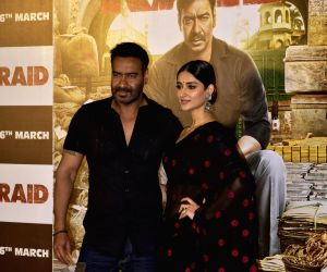 "Trailer launch of film ""Raid"