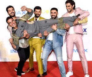 "IMAX trailer and poster launch of film ""Gold"" - Akshay Kumar, Vineet Kumar Singh, Amit Sadh, Kunal Kapoor and Sunny Kaushal"