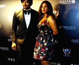 "Red carpet of ""Vogue Beauty Awards"" - Ali Fazal and Richa Chadha"