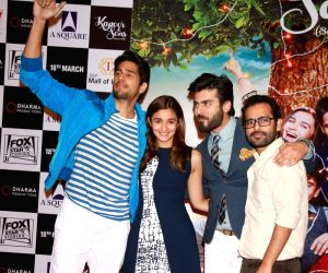 "Kapoor and Sons"" promotions"