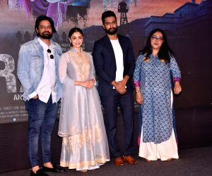"Song launch of film ""Raazi"" - Alia Bhatt,  Vicky Kaushal and Meghna Gulzar"